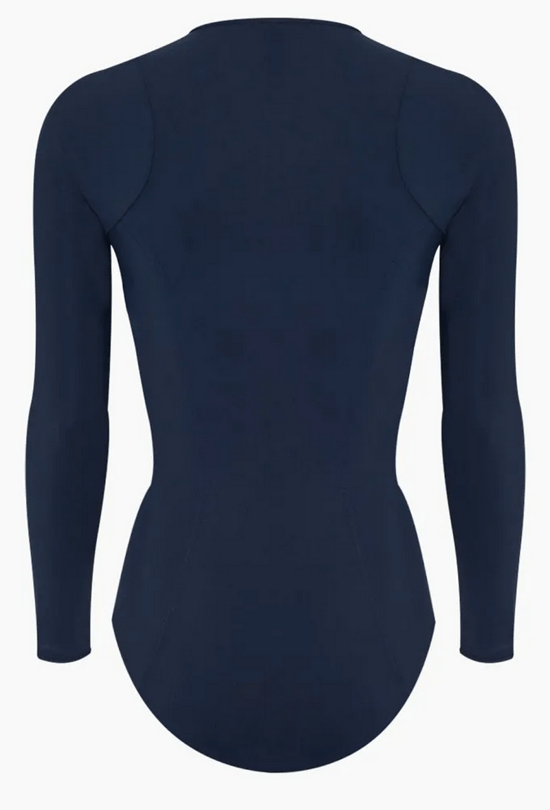 women long sleeve one piece swimsuit, sun protection clothing